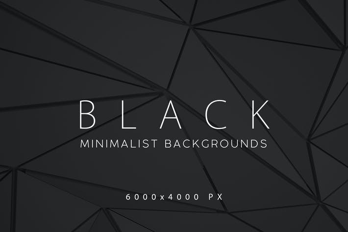 Thumbnail for Black Minimalist Backgrounds 3