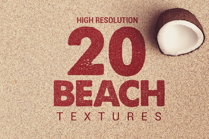 Thumbnail for 20 Textures de plage