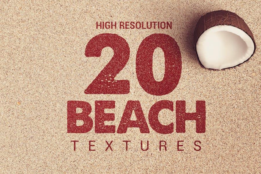 20 Beach Textures