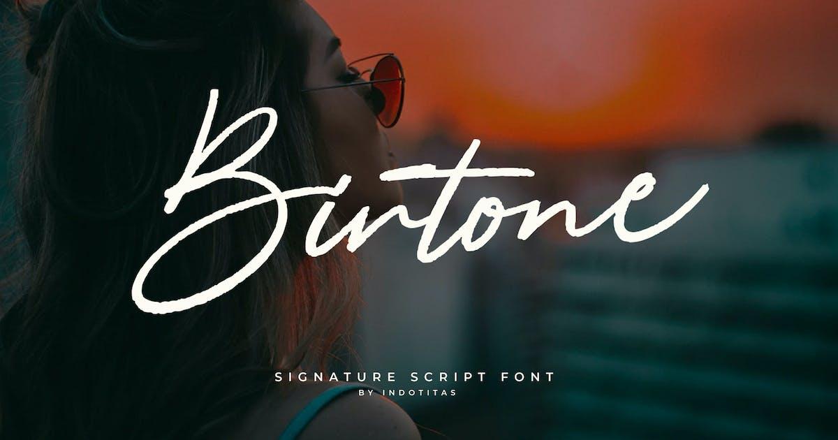Download Birtone Script by indotitas