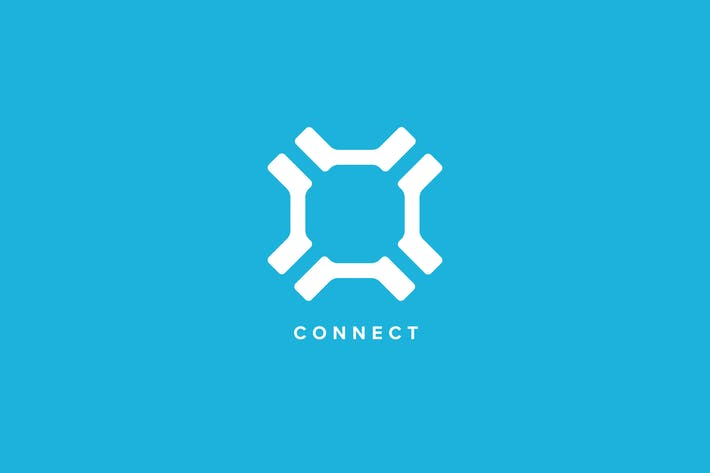 Cover Image For Connect Logo Template