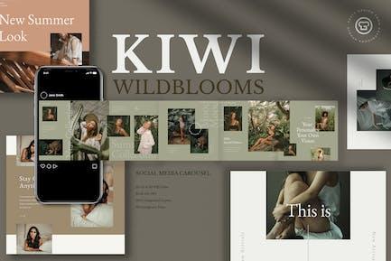 Kiwi Wildblooms Insta Carrusel