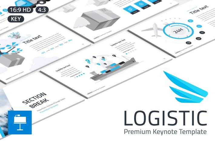 Thumbnail for Logistic Keynote Template