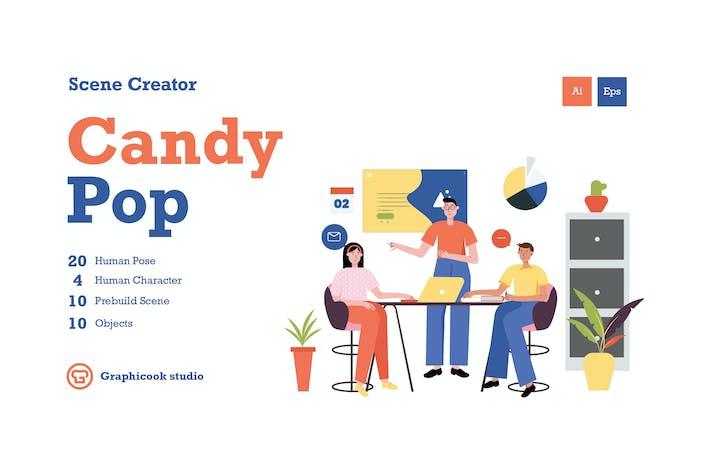 Thumbnail for Candy Pop Scene Creator