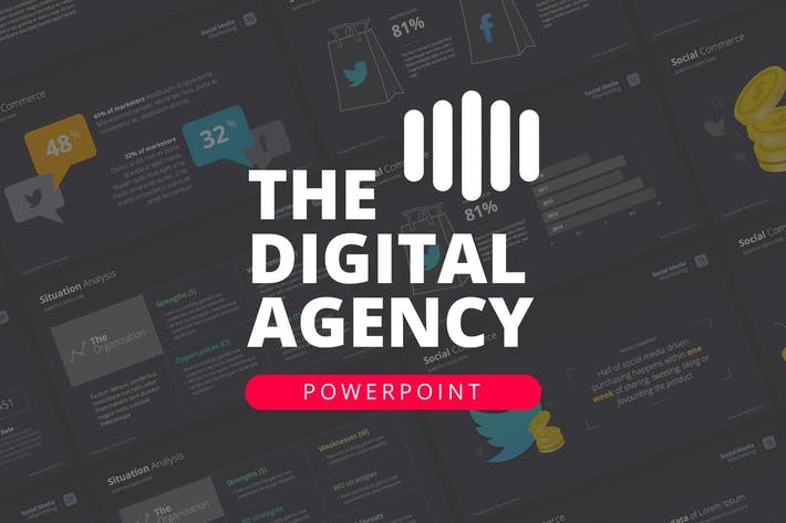 The Digital Agency Powerpoint Template By Slidehack On Envato Elements