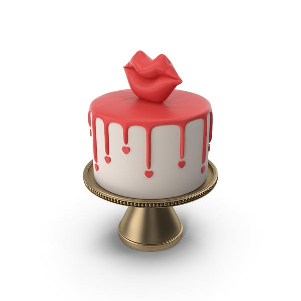 Thumbnail for Valentine's Drip Cake