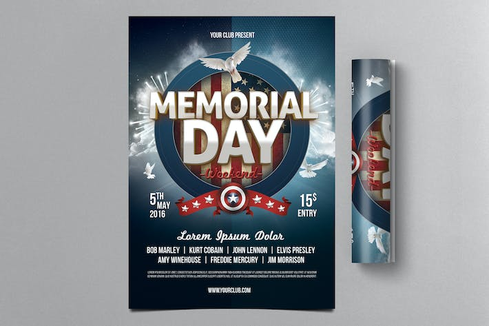 Thumbnail for Memorial Day Flyer