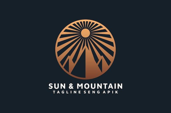 Thumbnail for SUN MOUNTAIN LOGO TEMPLATE