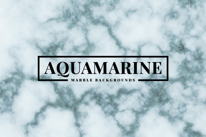 Thumbnail for Aquamarine Marble Backgrounds