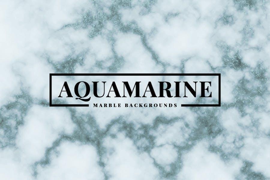Aquamarin Marmor Hintergründe