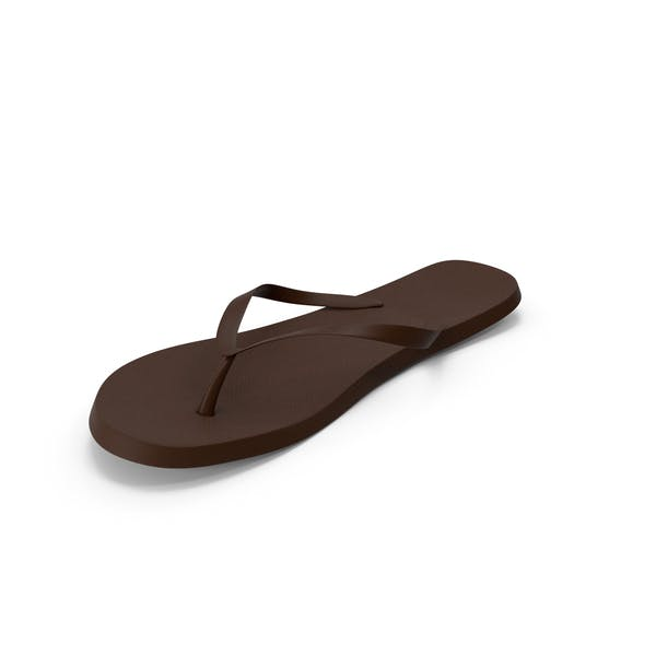 Mens Flip Flops Brown