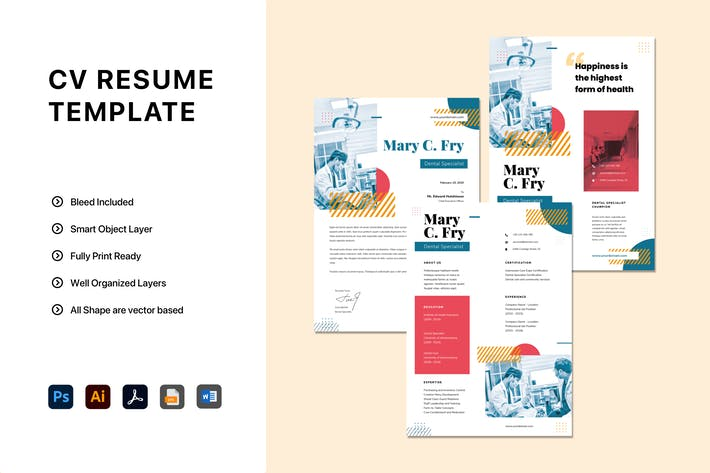 Thumbnail for Resume Templates