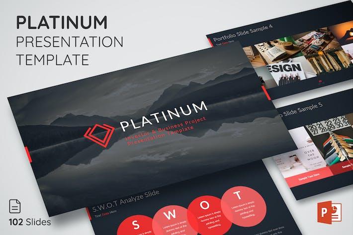Thumbnail for Platinum - Presentation Template