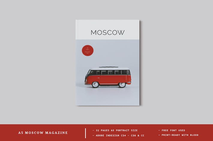 Thumbnail for A5 Moscow Magazine