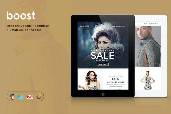 Boost - E-commerce Newsletter + Builder Access