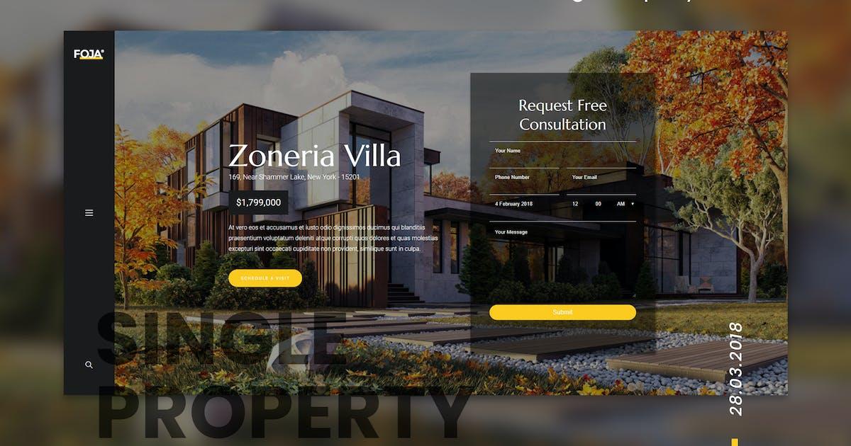 Download Foja | Single Property WordPress Theme by themesawesome