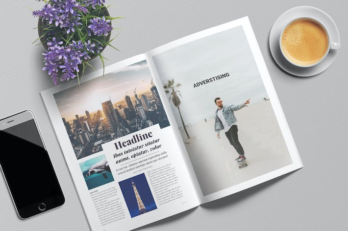 magazine template 11 th by angelbi88 on envato elements