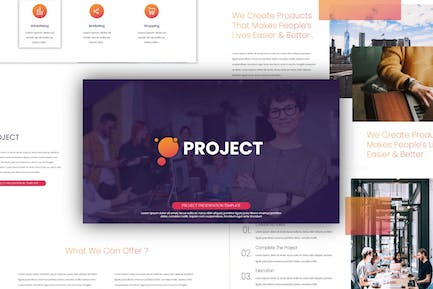 Project - Powerpoint Templates
