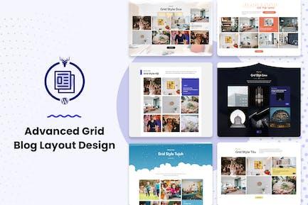Grid Blog Layout WordPress Plugin