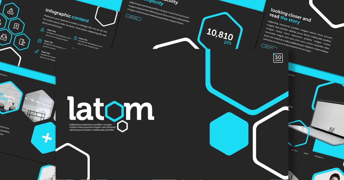 Latom Keynote Template By Inspirasign On Envato Elements Get the làtom neck gaiter and mug. envato elements
