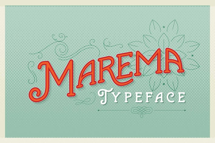 Thumbnail for Marema Typeface