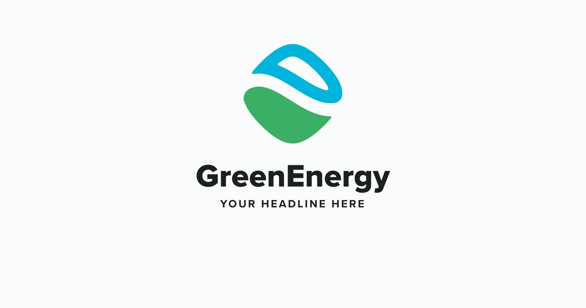 Download Green Energy Logo Template by Pixasquare