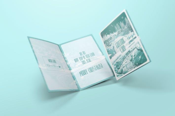 Thumbnail for Greeting Card / Invitation Mockups