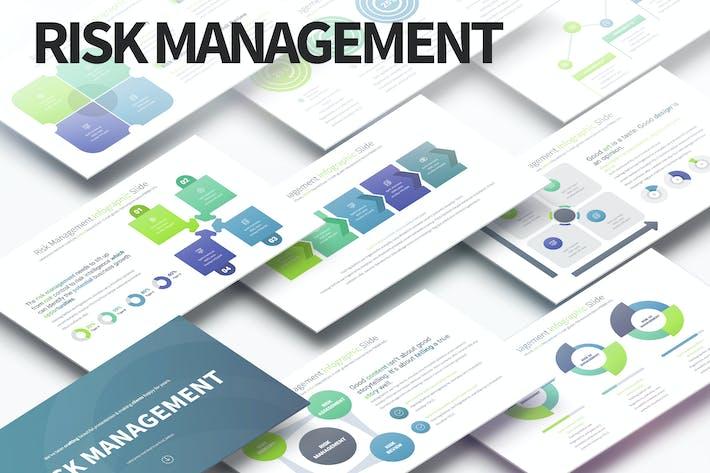 Thumbnail for Risk Management - PowerPoint Infographics Slides
