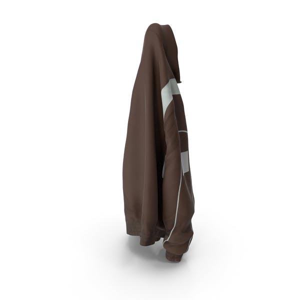 Спортивная куртка коричневая