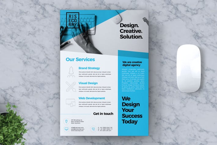 Thumbnail for Creative Corporate Flyer Vol. 02