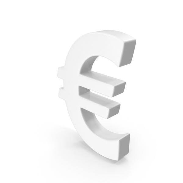 Thumbnail for Euro Sign White