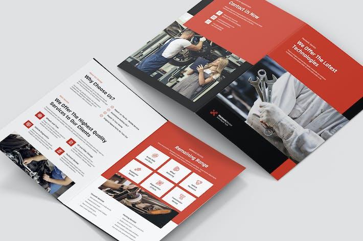 Thumbnail for Brochure – Mechanic Bi-Fold