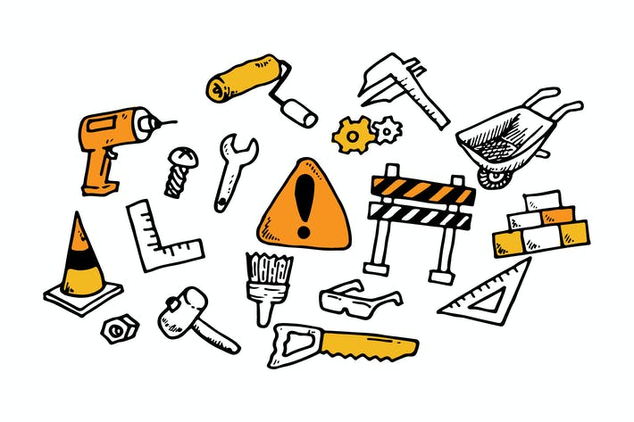 Thumbnail for Construction Doodles Collection