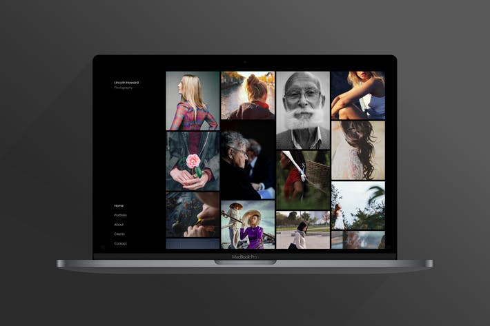 Cover Image For Sylk | Photography Portfolio Template