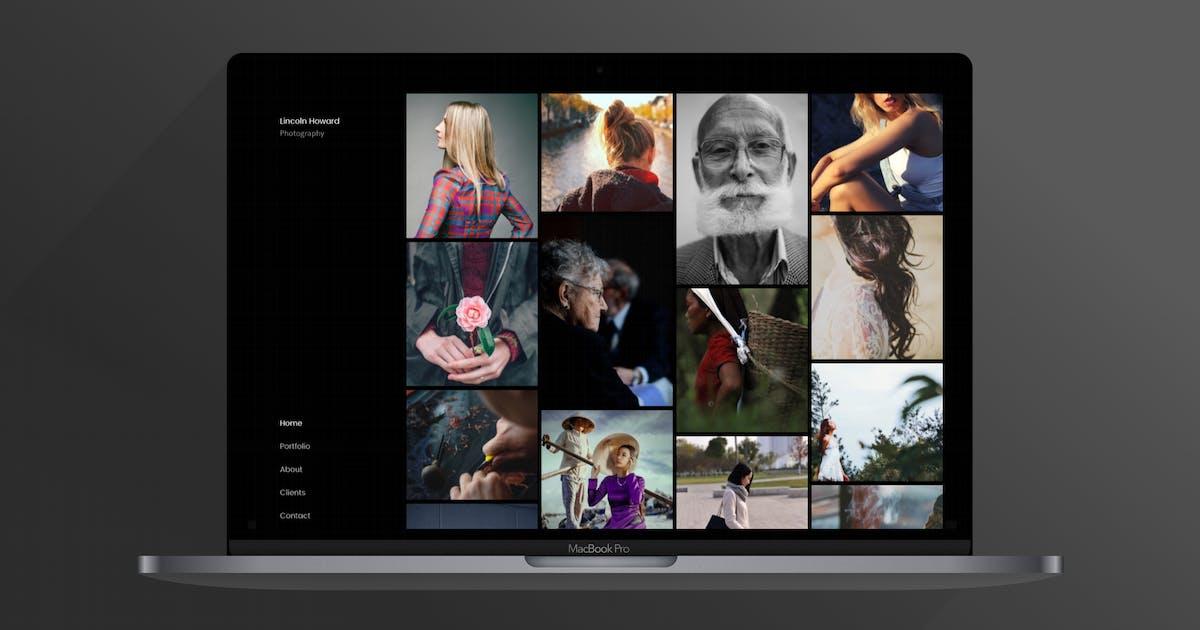Download Sylk   Photography Portfolio Template by ThemeVillain
