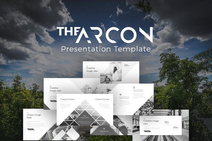 Thumbnail for The Arcon Creative Presentation Template