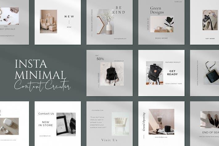 Thumbnail for Minimal  Insta Creator