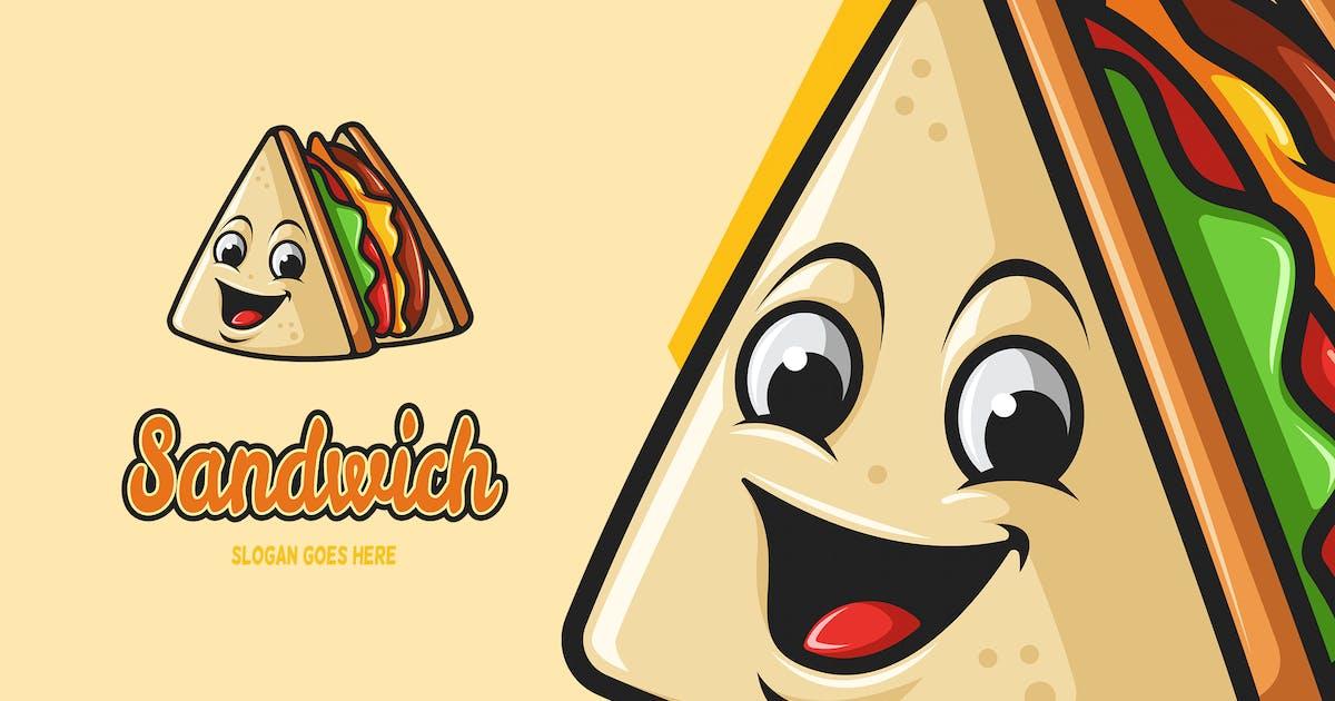 Download Sandwich - Mascot Logo by aqrstudio