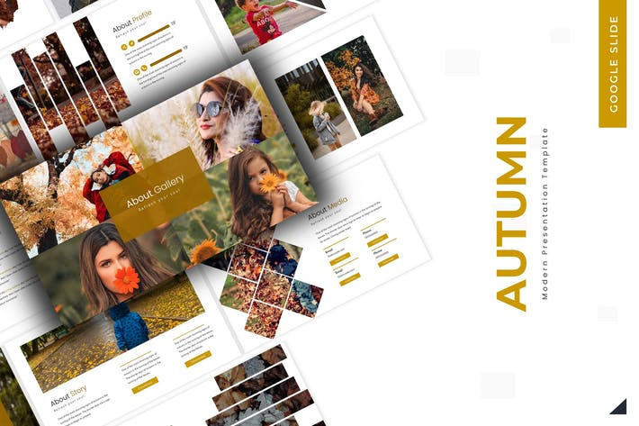 Cover Image For Autumn - Keynote Template