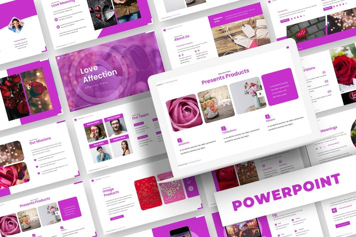 Love Affectio - Powerpoint Template