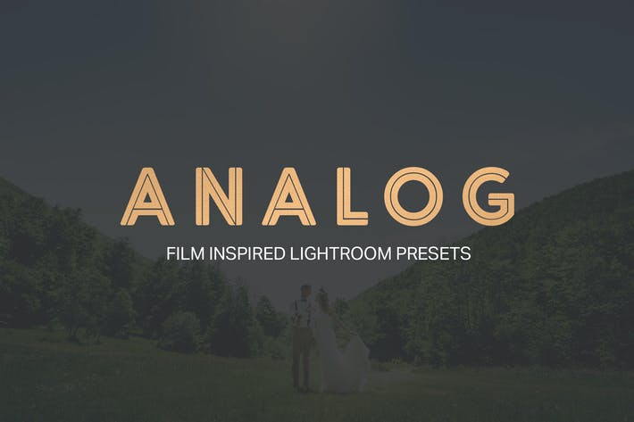 Cover Image For Analog Lightroom Presets