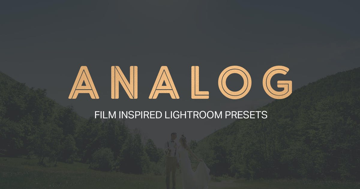 Analog Lightroom Presets by sparklestock