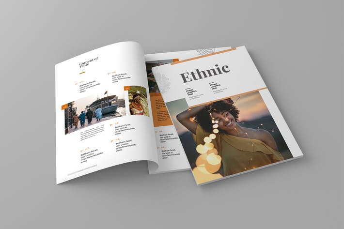 Thumbnail for Ethnic Magazine Template