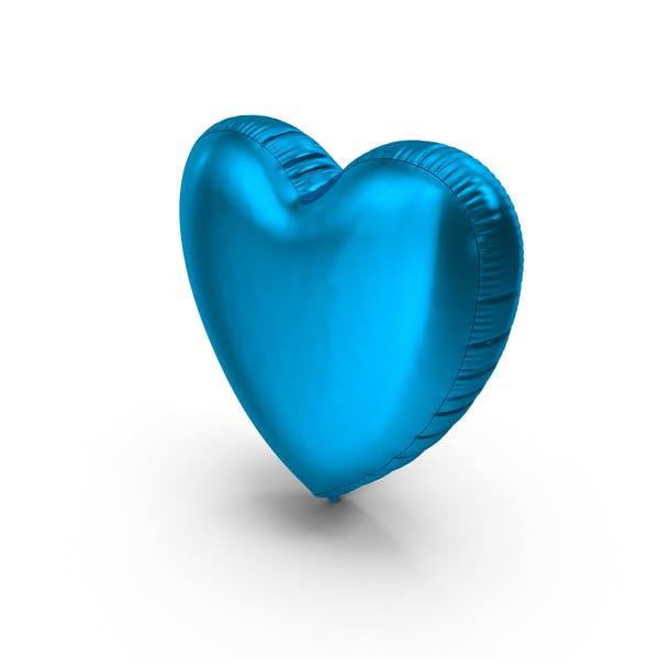 Foil Balloon Heart