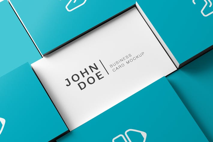 Thumbnail for 85x55 Business Card Mockup