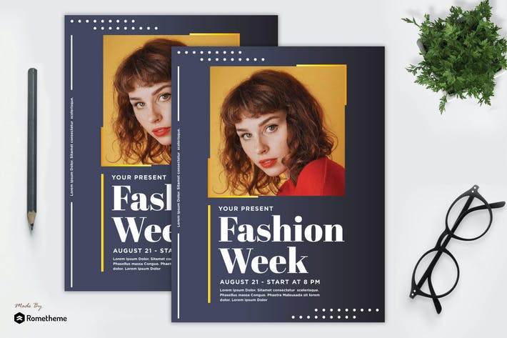 Cover Image For Fashion Week Flyer vol. 02 MR
