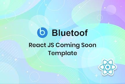 Bluetoof - React JS Coming Soon Template