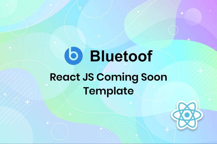 Thumbnail for Bluetoof - React JS Coming Soon Template