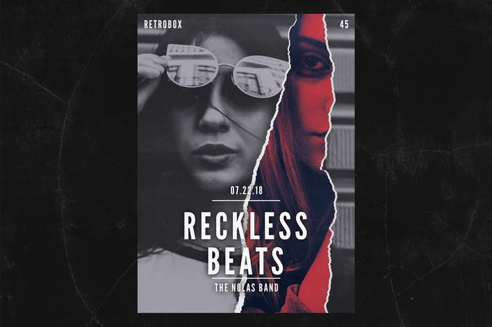 Cover Image For Reckless Beat Flyer Poster