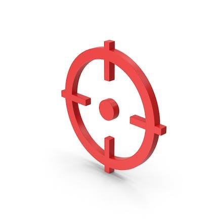 Symbol Aim Red